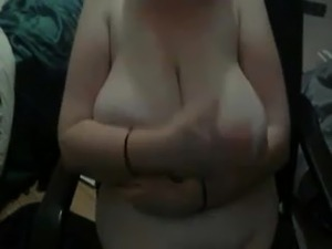 Large saggy tits