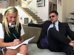 salesman teaching babe to fuck videos