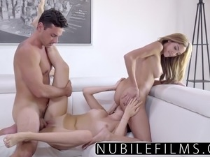 mmf threesome fucking video