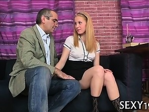 Girl getting fucked by teacher