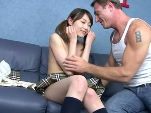cute japanese girl masturbate