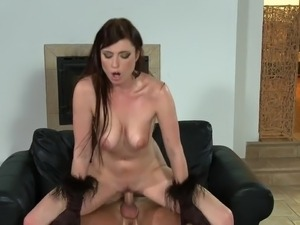 free cum on tits porn video