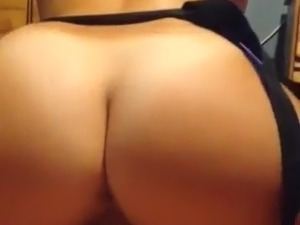biggest ass riding cowgirl style