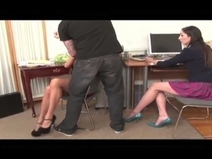 free secretary sex video