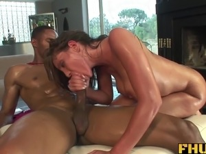 wife sucked big black cock
