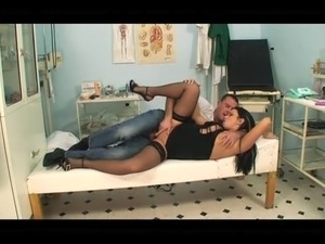 ebony nylon sex