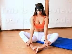 yoga girls winters video