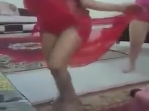teen girls stripping and dancing