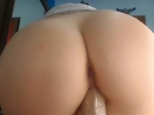 anal fingering with toys
