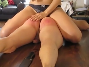 She fucks my ass