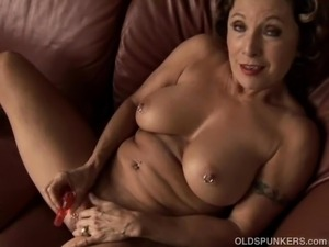 mature granny masterbation movies video