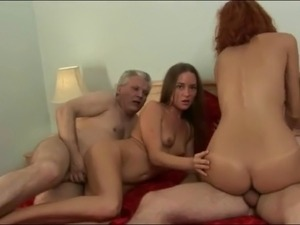 old guys and young girls porn