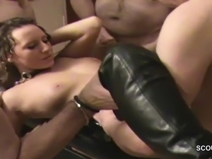 double penetration group sex creampie bukkake
