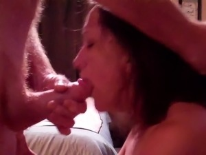 sexy blowjob cum in mouth