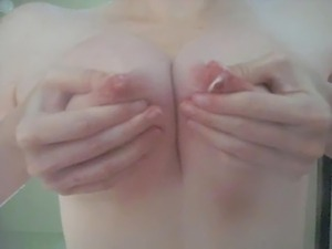 watch this girls perky tits