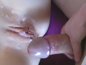 cum on old fat pussy