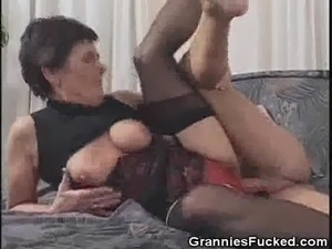 mature black grannie sex