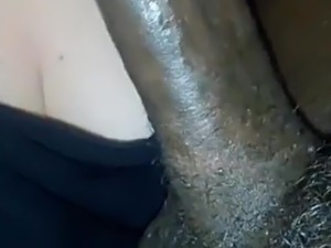 dildo black bbw toy suck