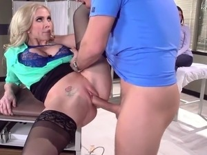 sex videos blonde nurses