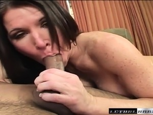 Busty Kendra gets her pussy banged deep and creampied by a young stud
