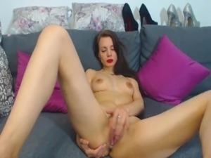 Sexy Amateur Girl Solo Masturbation