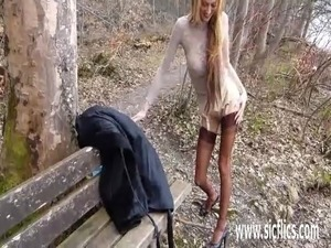 women naked in public videos