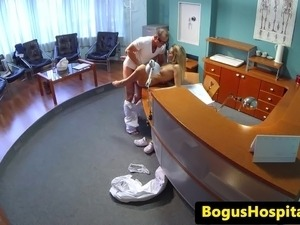 Hospital sex video