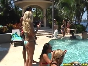 wild girls party video
