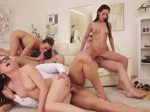 matures fucking at a swingers party