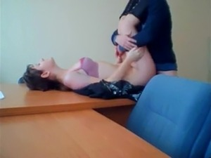 office girls threesome