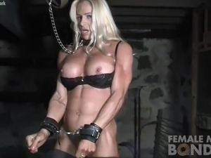muscular women porn free video
