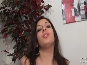 Pretty french arab slut ass nailed with cum 2 mouth