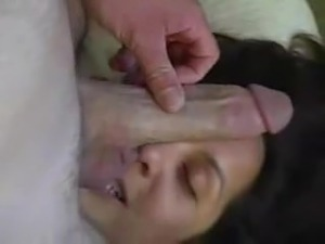 korean facial cum