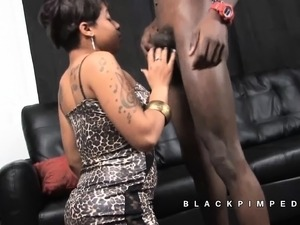 black am anal gagged