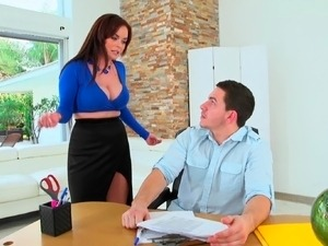 young boss fuck mature secretary