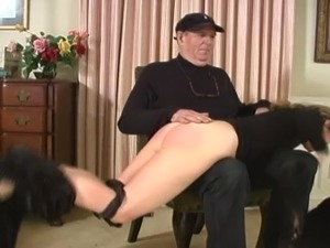 Older couple Spanking