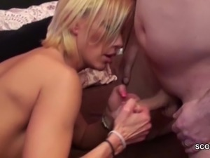 threesome videos german