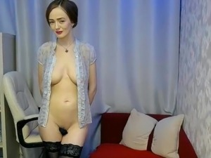 Hot sexy girl striptease