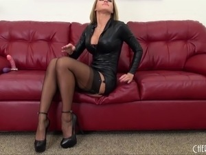 free sex videos in platin leather