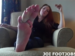 young naked girls giving footjobs
