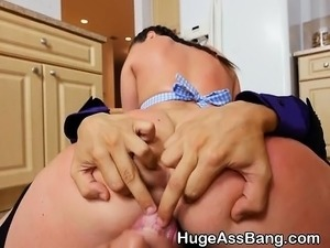 fuck wife kitchen
