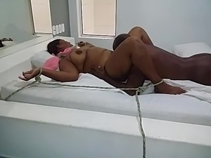 girl tied up sex video