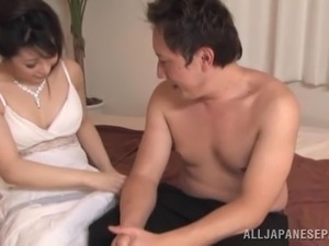 japanese wife forced beside husband