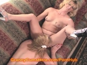 granny seduces boy porn video