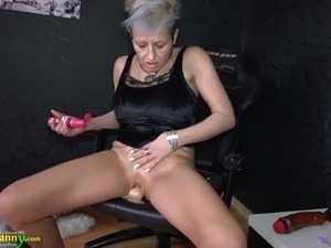 mature woman sucks two dicks