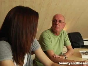 young teen and old man sex