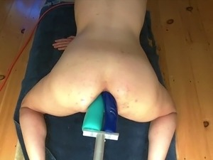 sexy girls brutally machine fucked