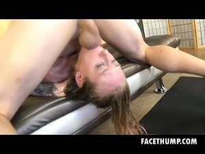 stocking gagged sex video