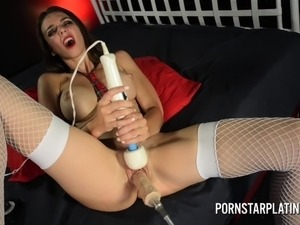 ebony machine sex