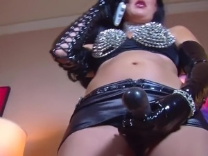 mature mistress masturbation instruction video
